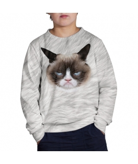Children's Sweater British cat