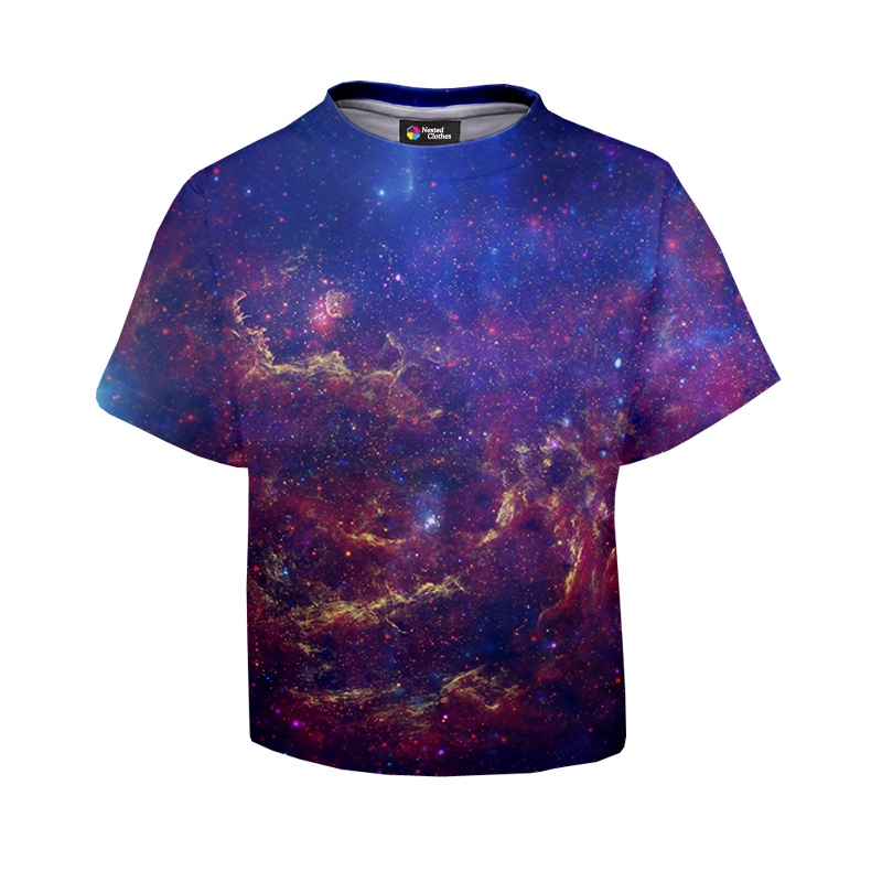 T shirt for kids galaxy for Galaxy white t shirts wholesale