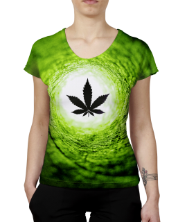 Vortex Green World T-Shirt