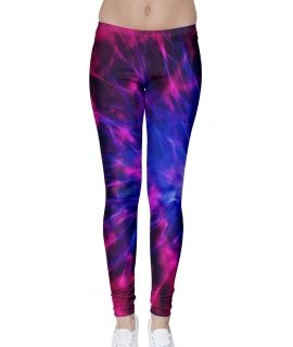 Purple Plasma Leggings