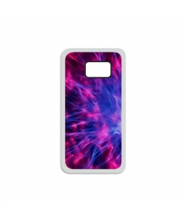 Purple Plasma Samsung Case