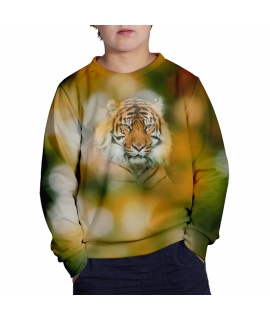 Bokeh Tiger Sweater for kids