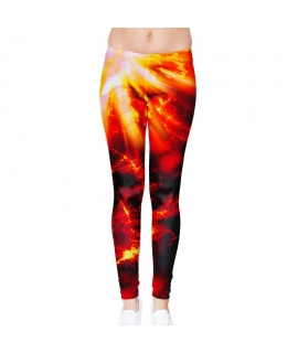 Big Bang Red Leggings