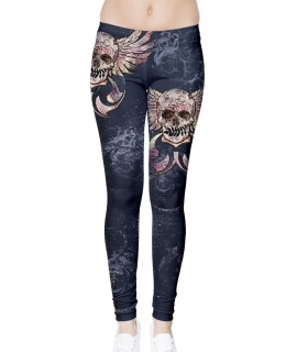 Skull N Roses Leggings