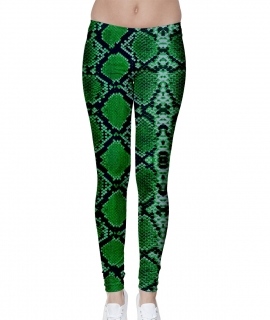Green Lizard Leggings