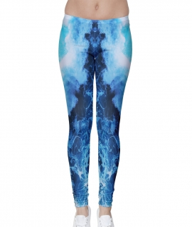 Ocean Skull Leggings