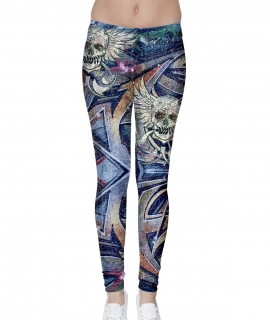 Skull N Spray Leggings