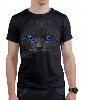 Black Cat Jumper T-Shirt