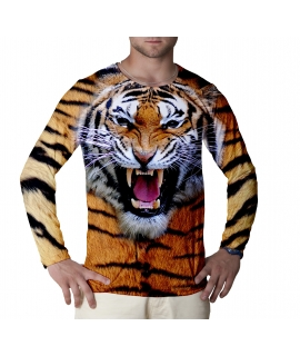 Wild Tiger long sleeve t-shirt