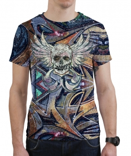 T-Shirt Skull N Spray