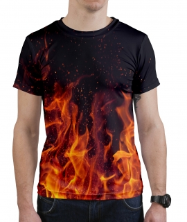 T-Shirt In Flames