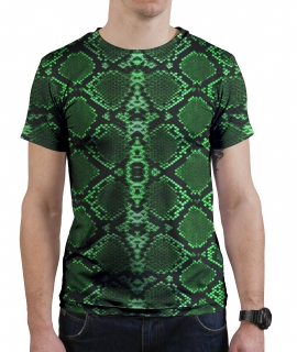 T-Shirt Green Lizard