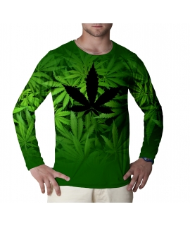 Green World long sleeve t-shirt