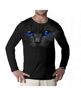 Black Cat Jumper longsleeve t-shirt