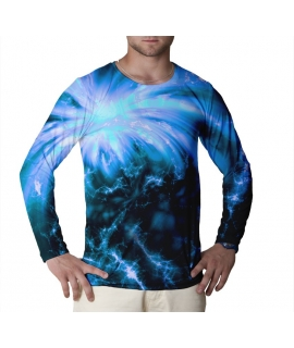 Big Bang Blue longsleeve t-shirt