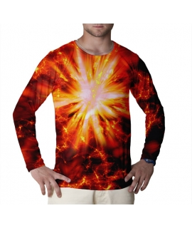 Big Bang Red longsleeve shirt