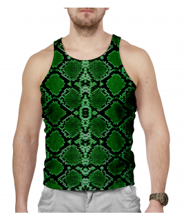 Green Lizard Tank-top