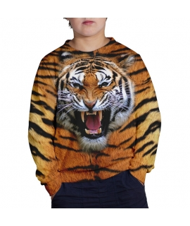 Wild Tiger Sweater for kids