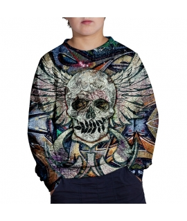Sweater Skull N Spray for kids