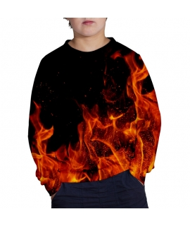In Flames Sweater for kids