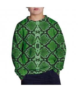 Green Lizard Sweater for kids