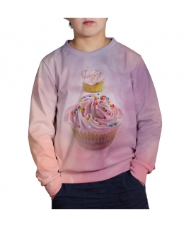 Bokeh Cupcake Sweater for kids