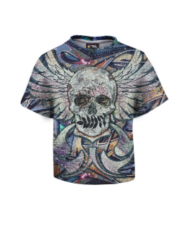 Skull N Spray T-shirt for kids