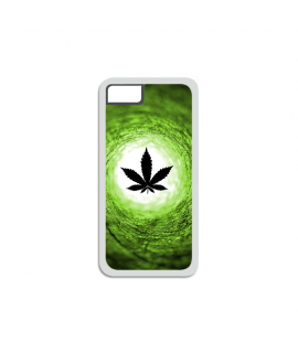 Vortex Green iPhone Case