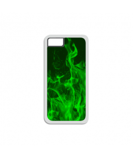 Green Flames iPhone Case