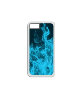 Blue Flames iPhone Case