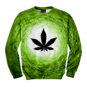 Vortex Green World Sweater