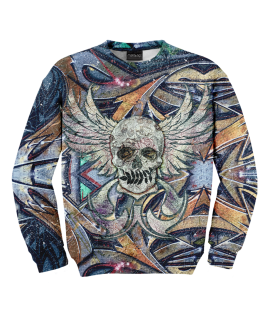 Bluza Skull N Spray