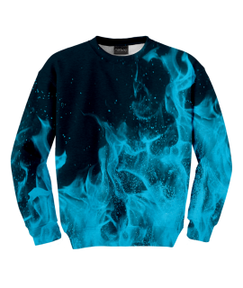 Bluza Blue Flames