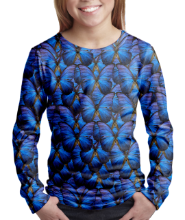 Butterflies t-shirt for girls