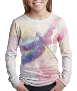Dragonfly t-shirt for girls