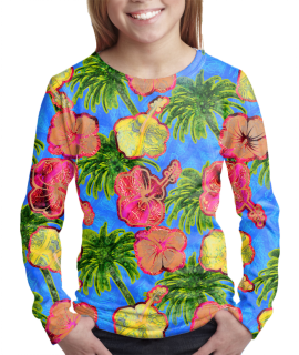 Hawaiian t-shirt for girls