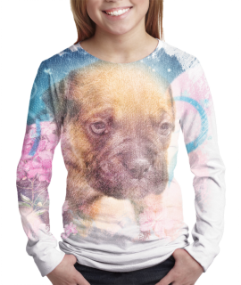 Puppy t-shirt for girls