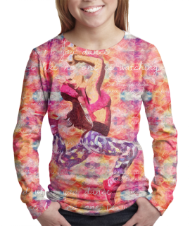 Retro Dancer t-shirt for girls