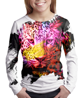 Tiger t-shirt for girls